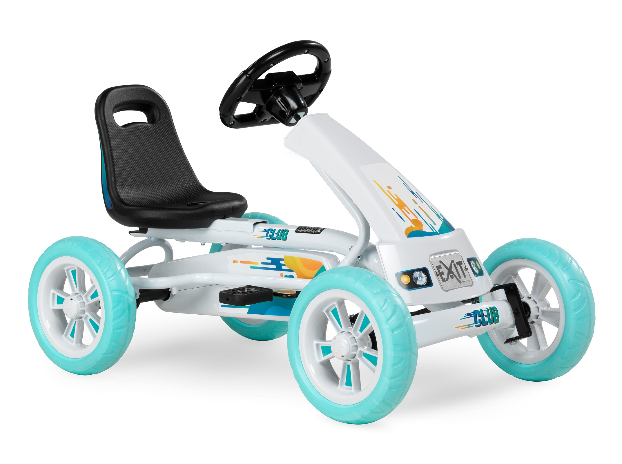 1-Sitzer Gokart Kinderfahrzeug Rennkart Exit Gocart Go-Kart Kinder